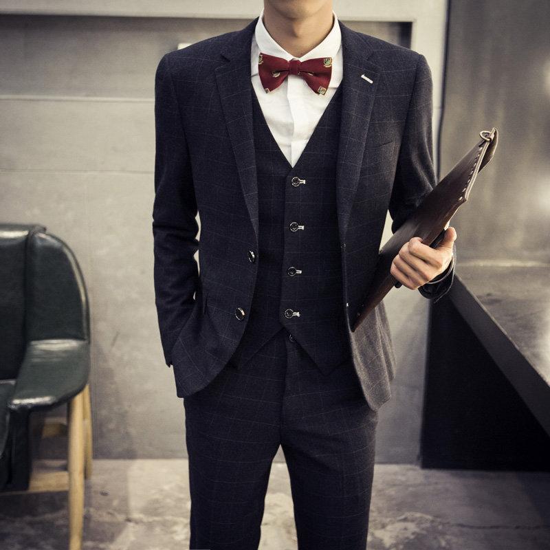 """""""Aliexpress.com : Buy Retro Plaid Suit For Men Fashion"""