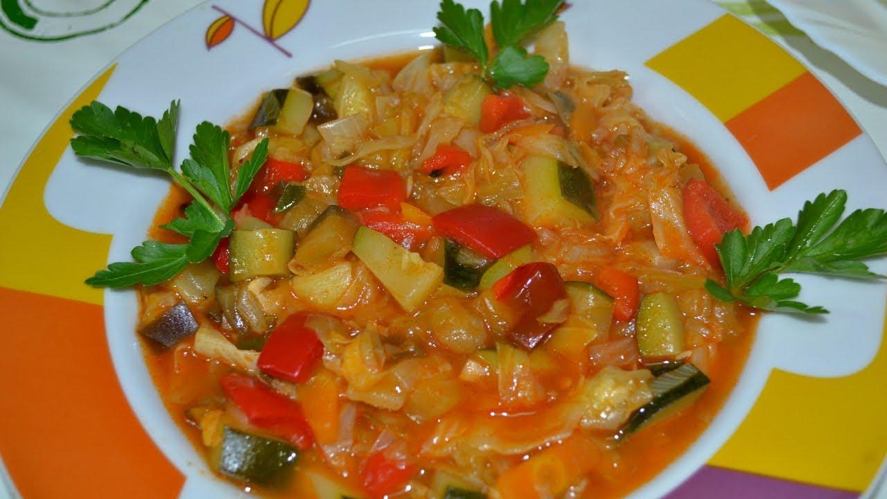 рецепт рагу овощное фото