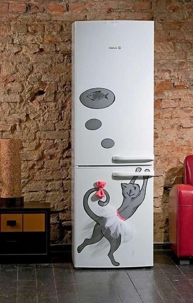 Прикольные картинки на холодильник своими руками, днем рождения