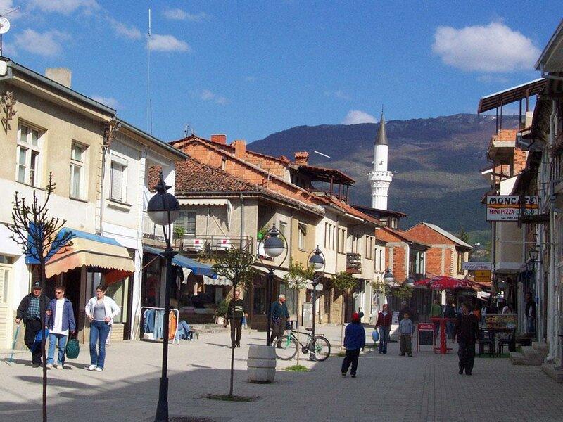 Улочки Скопье
