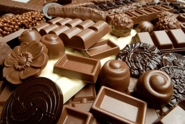 Новым годом, красивые картинки шоколадом