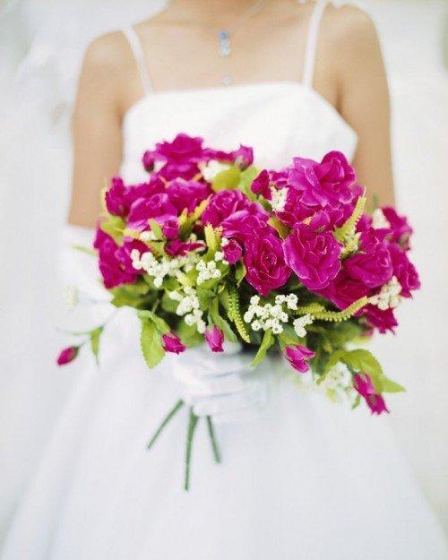 Красивые свадебные букеты для невесты
