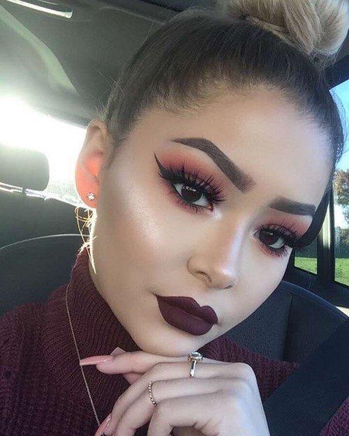 макияж на выпускной 2017
