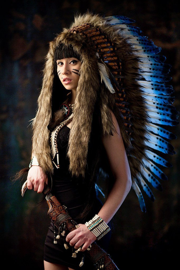 покрытия фотосессия в роли индейца придадут вашему