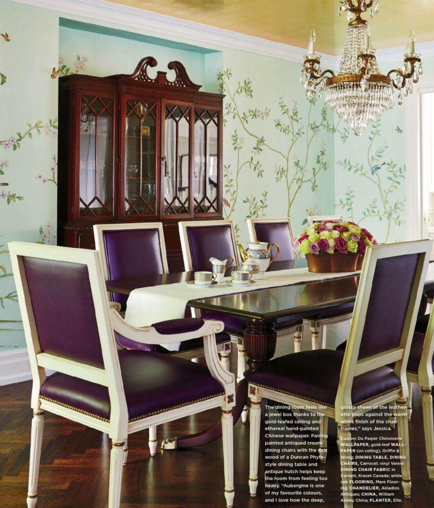 Green And Purple Kitchen Green And Purple Interiors By