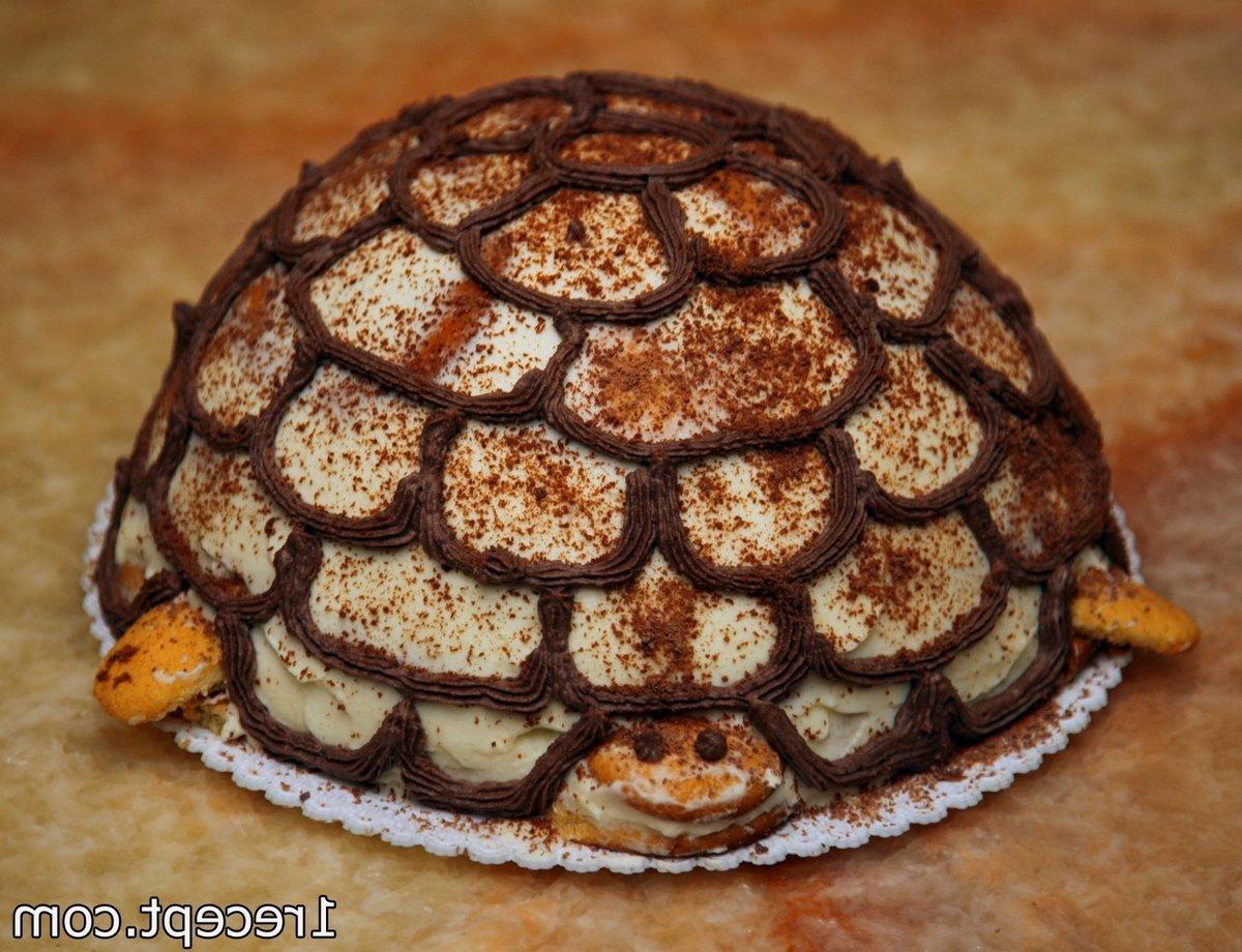 рецепт черепахи торт со сметанным кремом