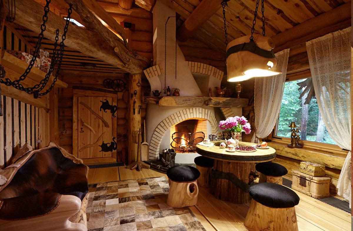 Интерьер в натуральном стиле - 23 фото дизайна уникального д.