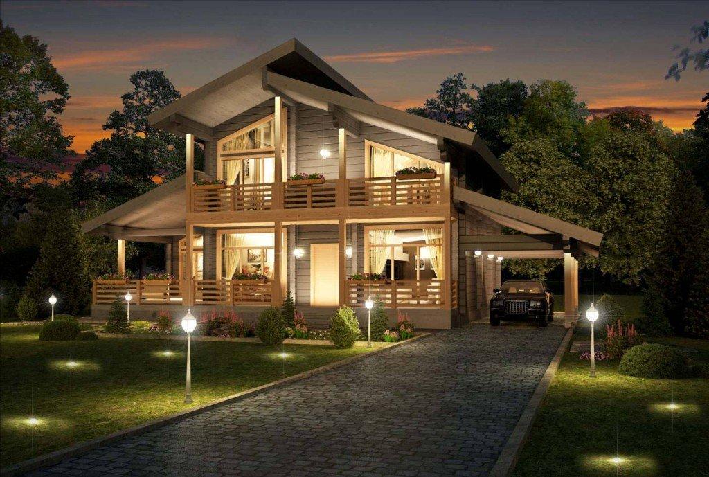 картинки с красивыми загородными домами представить себе такой