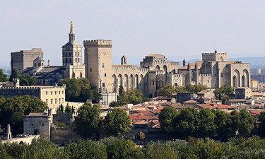 авиньон франция папский дворец