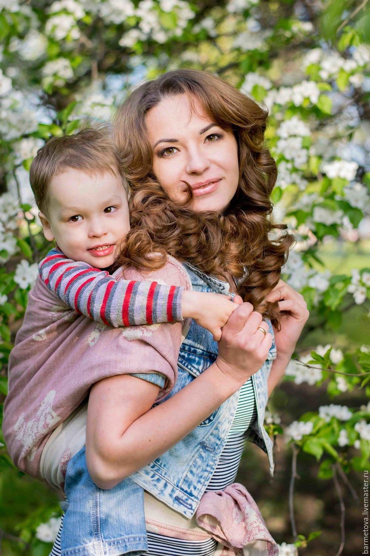 мама с син