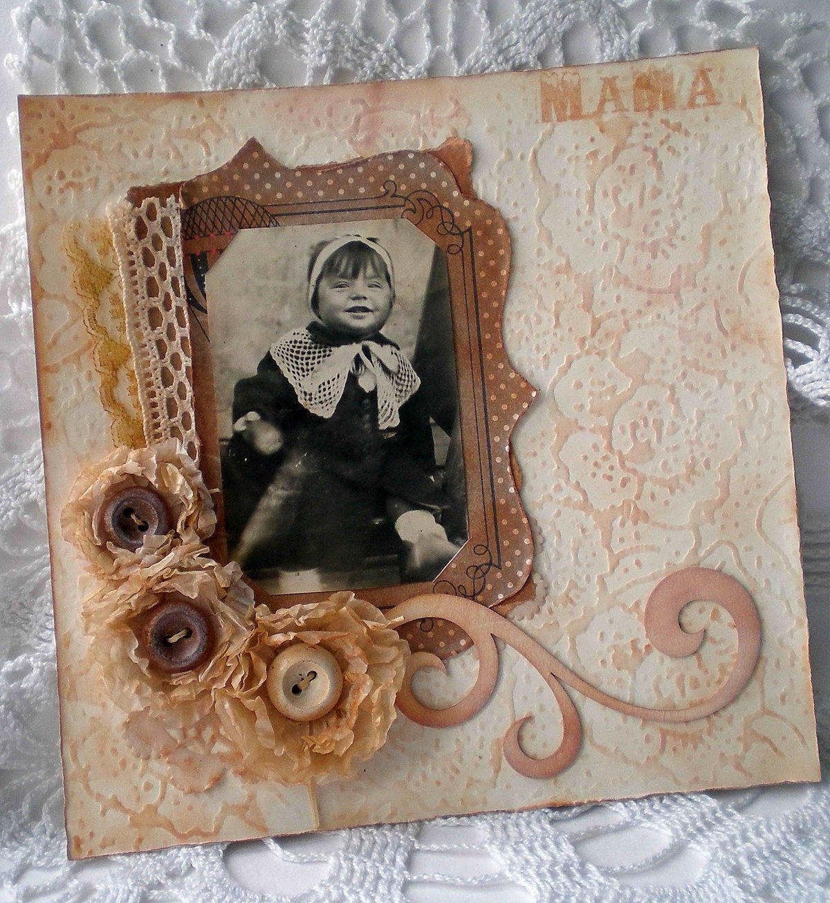 Оформление открытки фотографиями