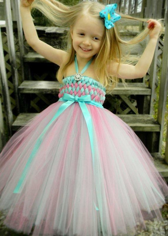 Платья из фатина фото для девочек