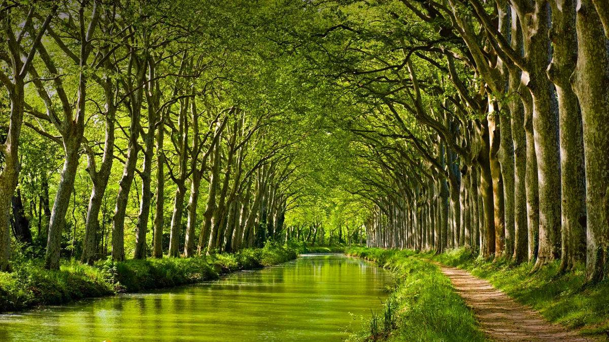 Канал-дю-Миди. Тулуза, Франция