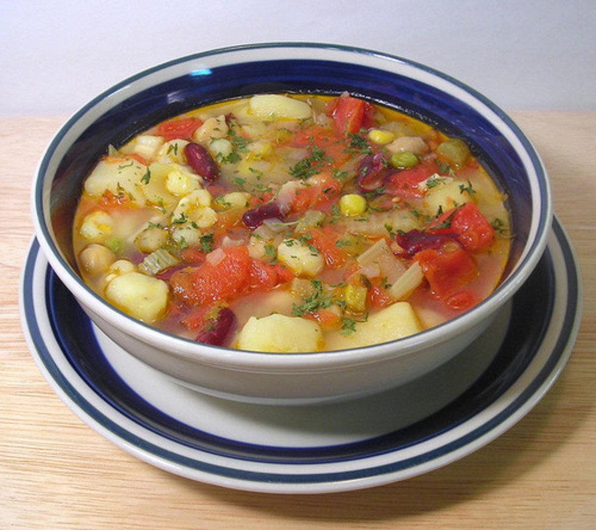 люди овощной суп без мяса рецепт с фото кликаем второму