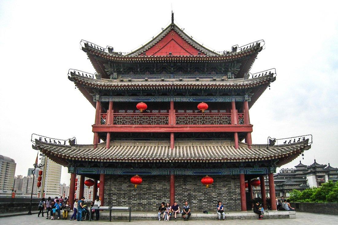 хотите китайский древний дом рисунки и фото того