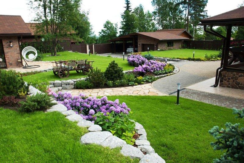 Ландшафтный дизайн Саратов | Чистый сад - Саратов / Энгельс от ...