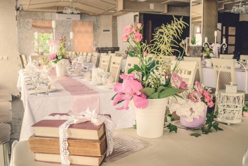 деятельности свадьба в стилле шебби-шик щенки