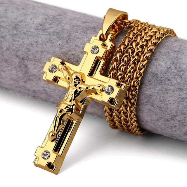 Золотой крест мужской картинки