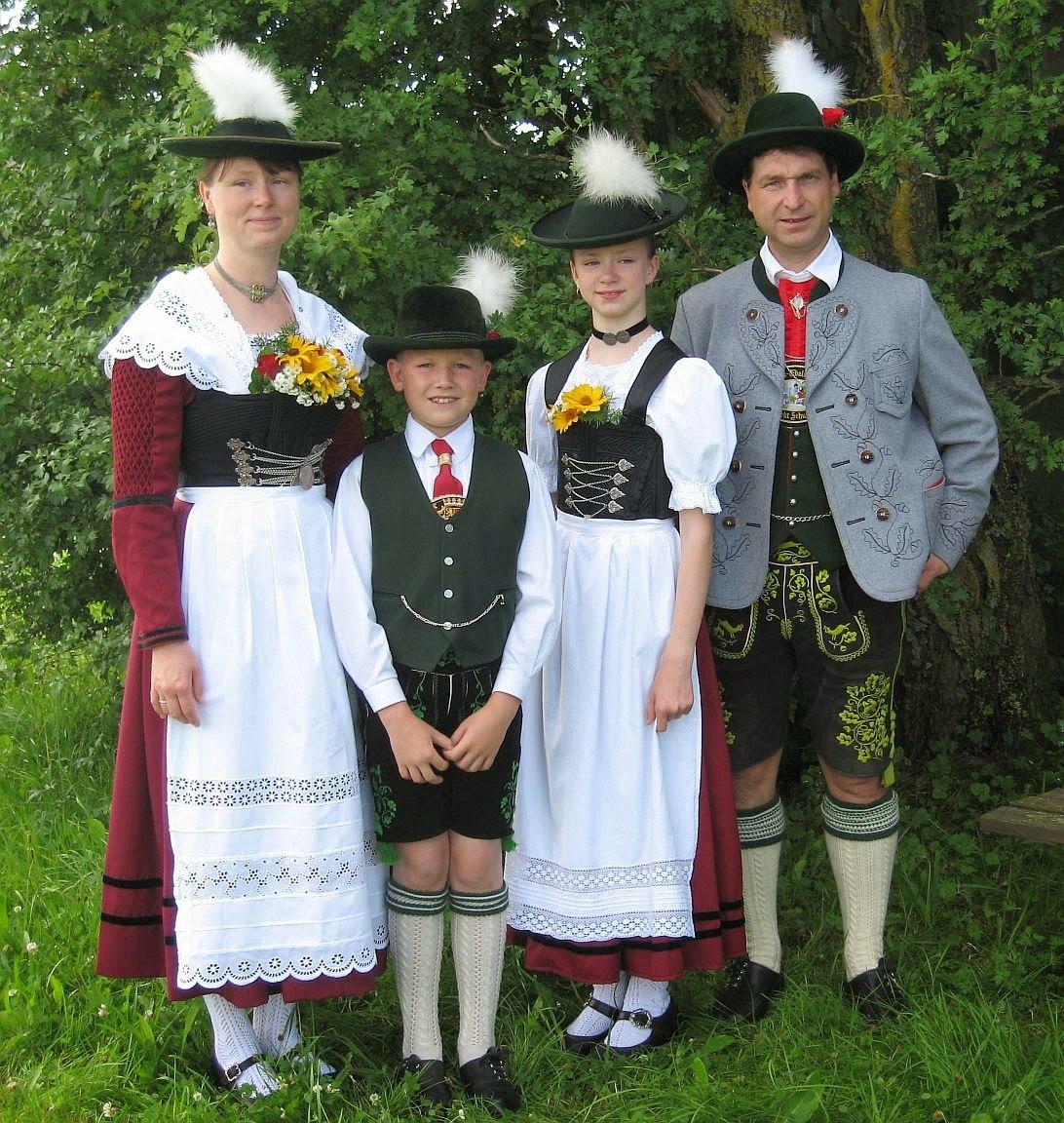 Бюнад - традиционный норвежский костюм / национальный ...