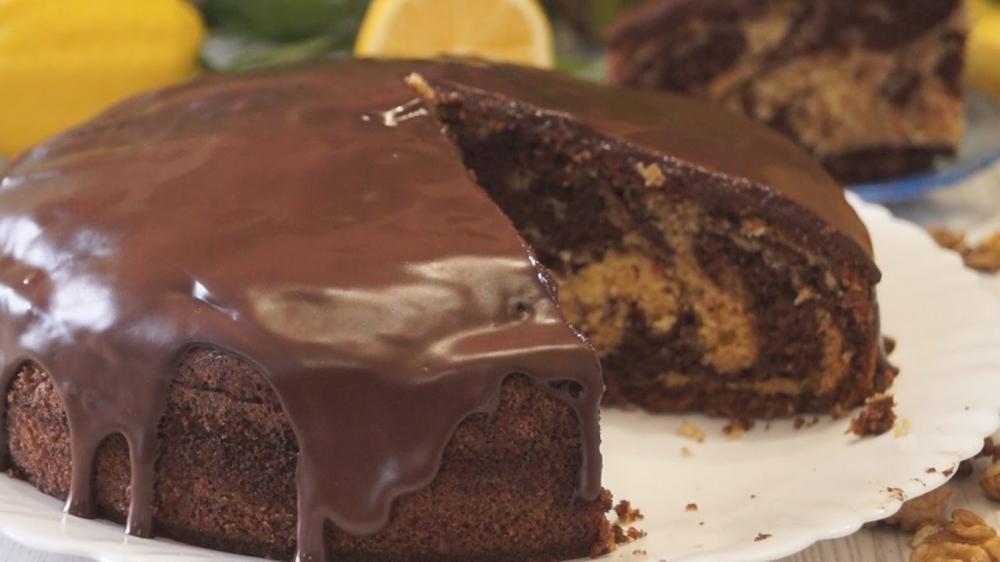Вкусный шоколадный пирог легкий
