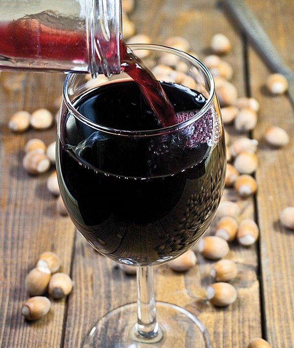 Рецепт вина из черноплодной рябины домашнего приготовления 96