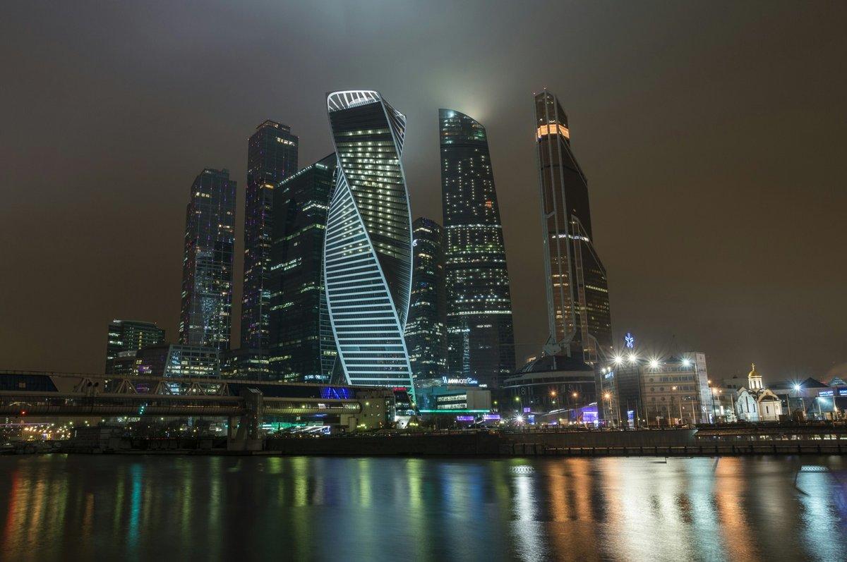 Фото Москва-Сити в хорошем качестве