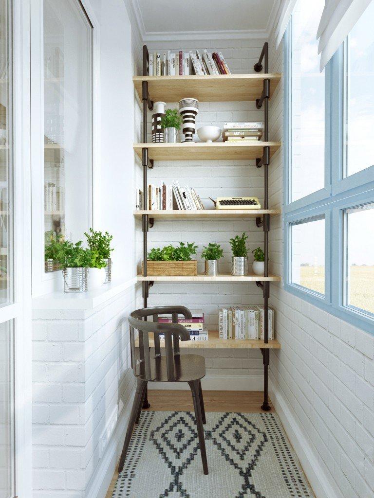 Балкон в современной квартире порой обладает качествами унив.
