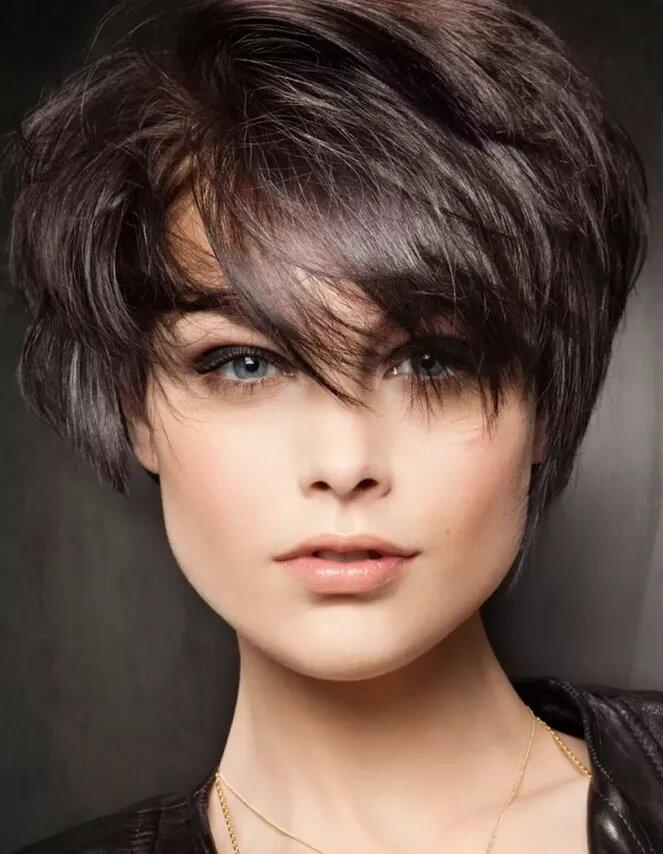 Французская стрижка на короткие волосы фото техника стрижки
