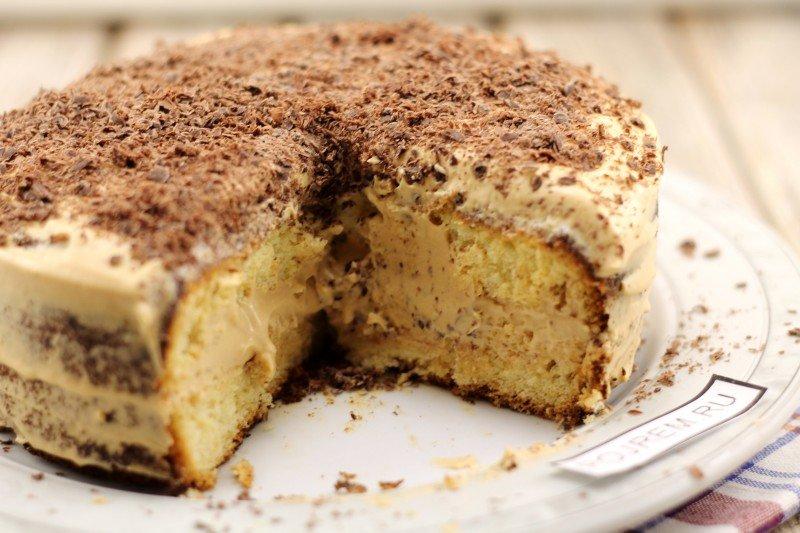 Торт простой рецепт в домашних условиях со сгущенкой
