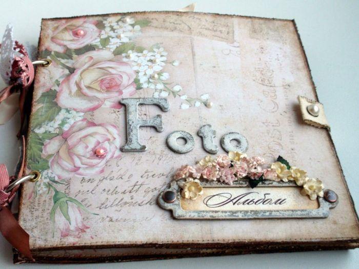 Как оформить открытку для семьи, платка