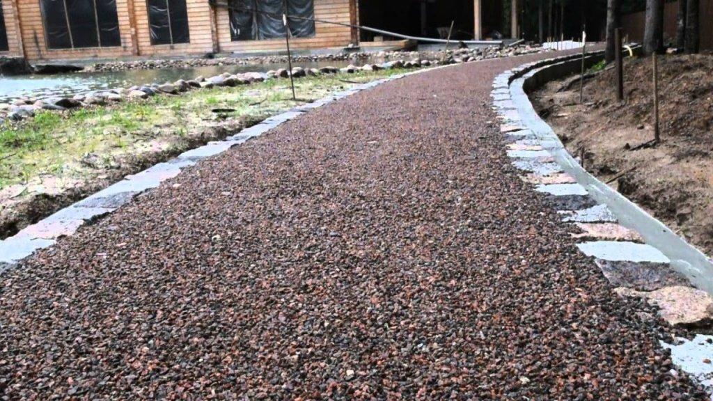 применение гравийного щебня
