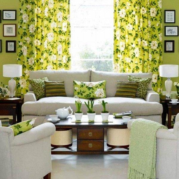 Цветочные принты в интерьере были и остаются актуальным методом декорирования интерьера.