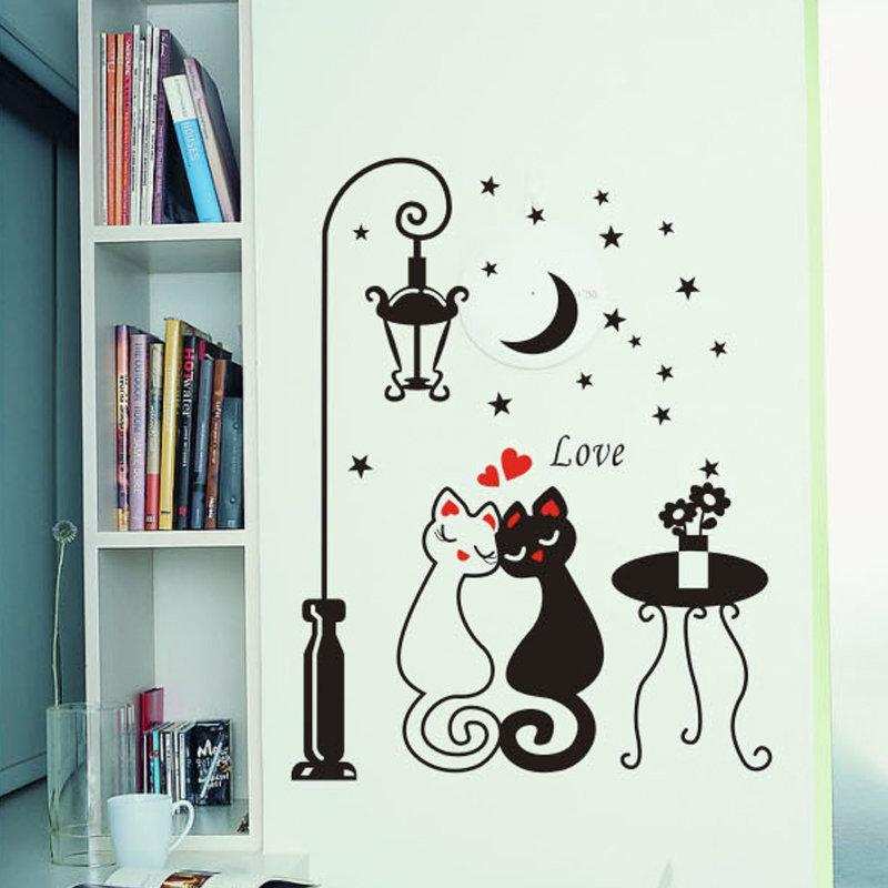Черно белые рисунки смешные на стене, открытки днюхой картинки