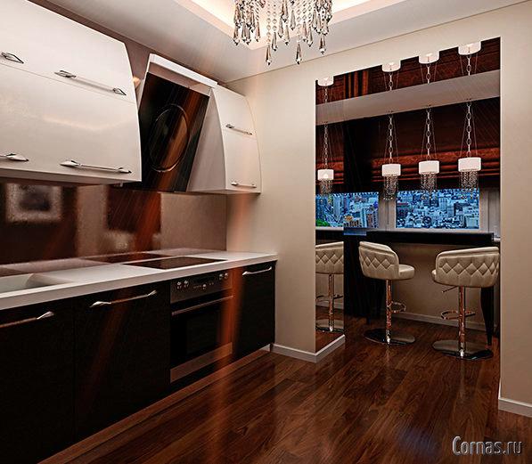 Если вы обладаете просторной кухней, и вам не требуется пере.