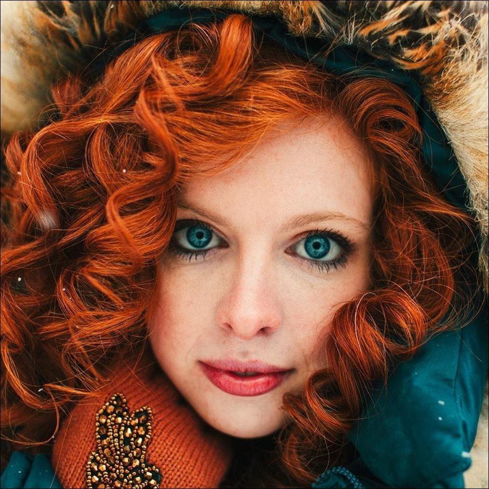 Самая красивая девушка рыжеволосая — pic 12