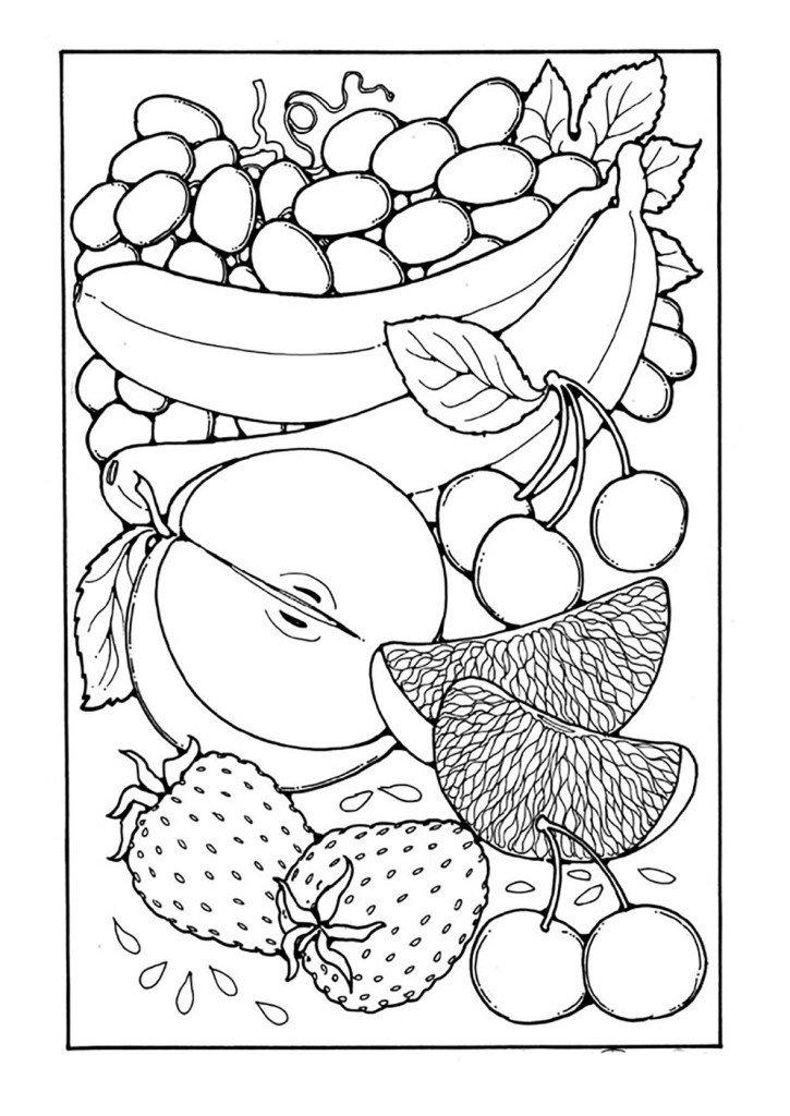 Картинки на тему фрукты раскраска, шелтями