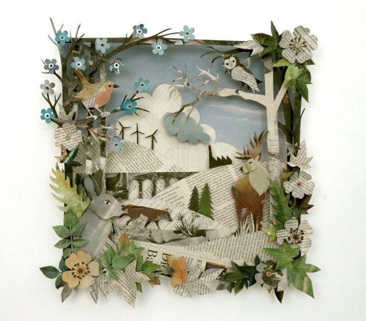 Муравьями, идеи для открытки лес