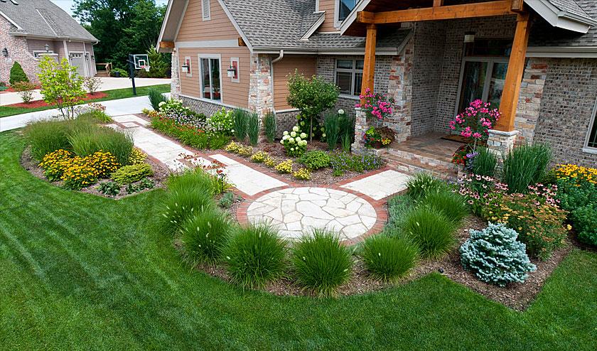 Front Yard Patio Inspiration Ideas Landscaping Gardening Ideas