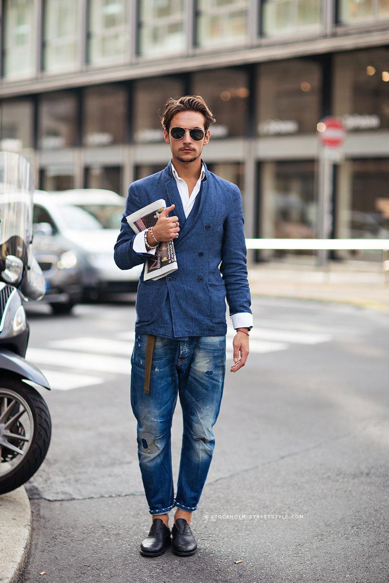 Рваные джинсы Carolines Mode