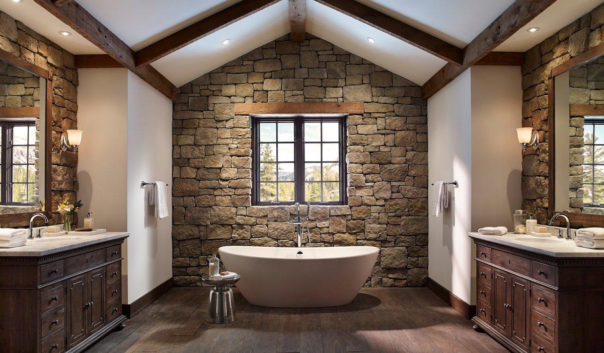 дикий дизайн ванной ком фото