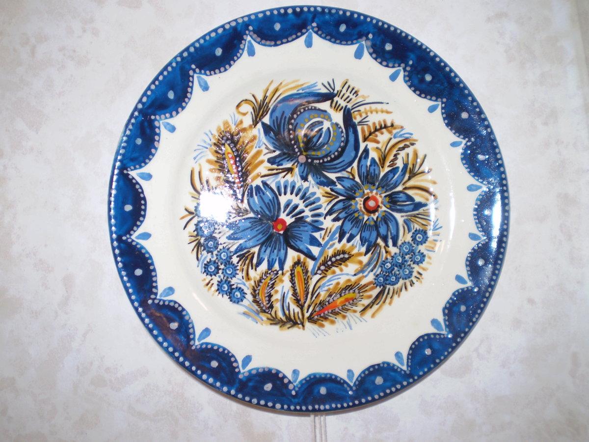 Расписные тарелки картинки