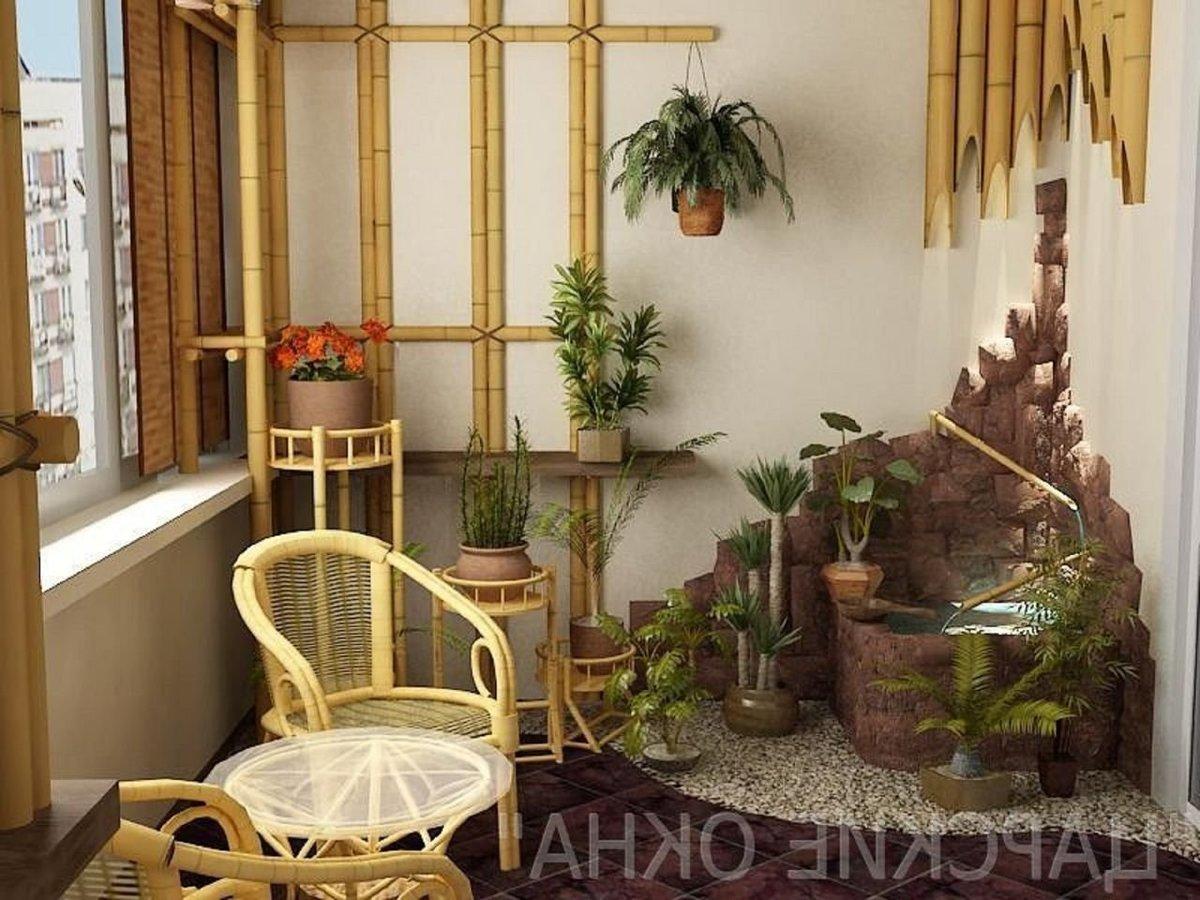 """Балкон оформленый бамбуком"""" - карточка пользователя shepitko."""