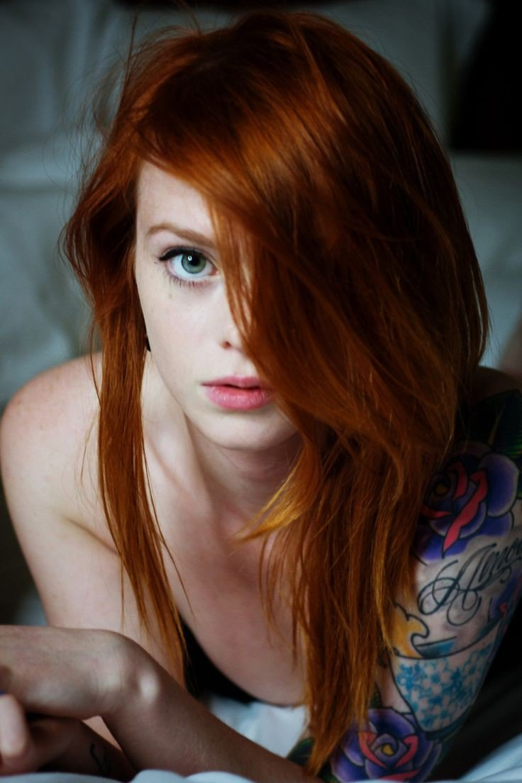 nude Redhead perfect
