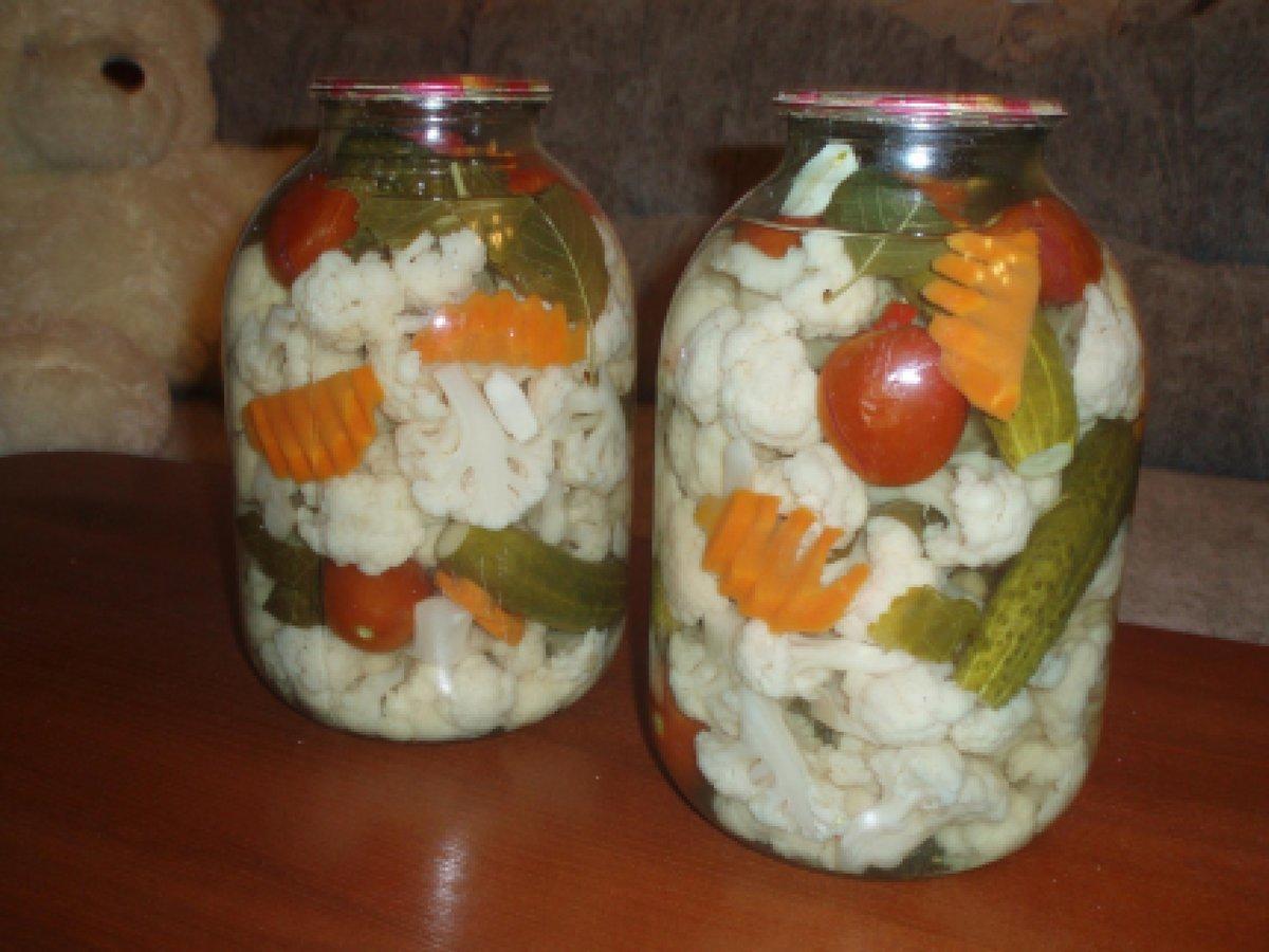 заготовки на зиму из цветной капусты и брокколи
