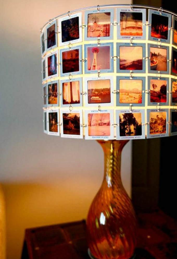 светильник из фотографий своими руками такой