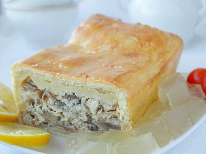 Пирог из скумбрии свежемороженой рецепты с фото