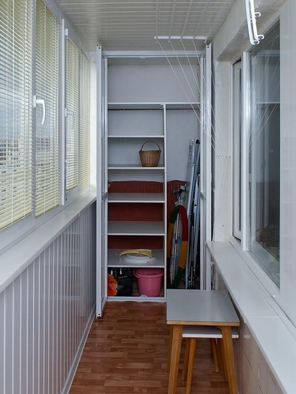 """Встроенные шкафы на лоджии"""" - карточка пользователя smile108."""