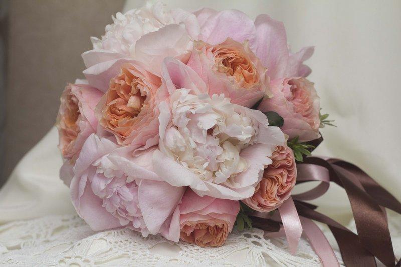Нежнейший розовый букет для тебя