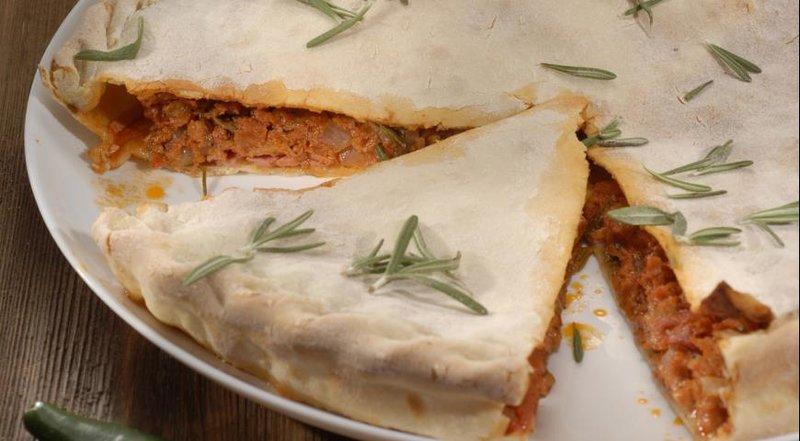 Итальянский мясной пирог, пошаговый рецепт с фото