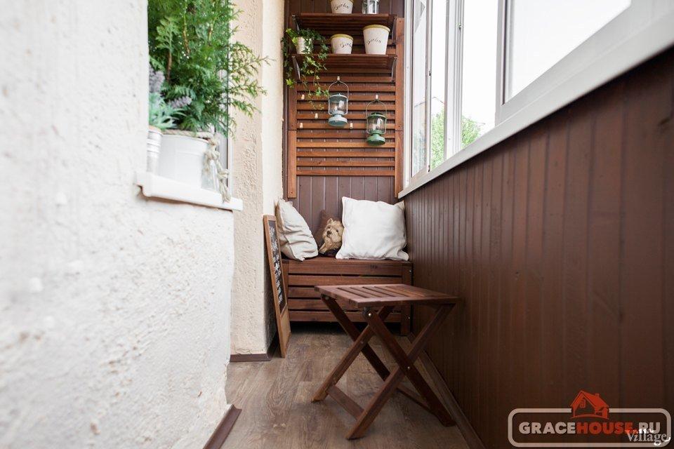 Балкон лофт: трендовые варианты интерьера 70+ идей 2018.